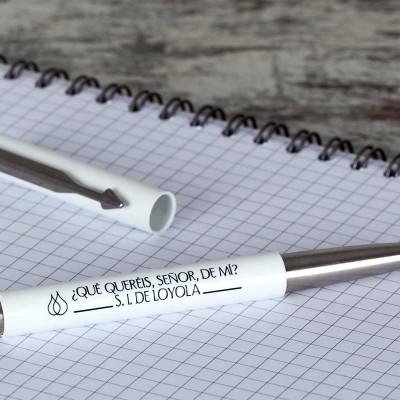 Bolígrafo Parker blanco 4