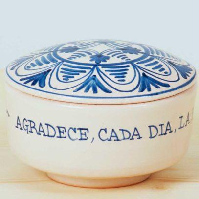 """Cajita azul """"Agradece cada Día""""3"""
