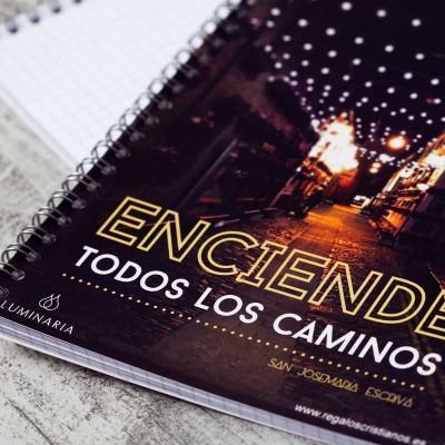 """Cuaderno """"Enciende todos los Caminos""""1"""