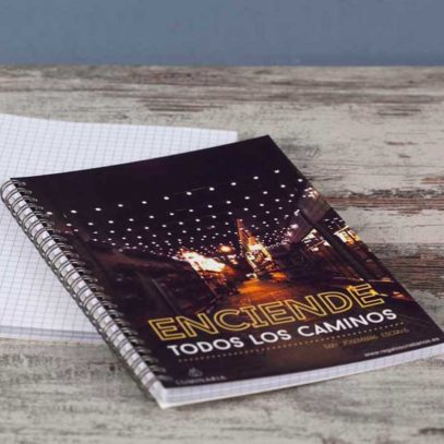 """Cuaderno """"Enciende todos los Caminos""""5"""
