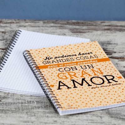 """Cuaderno """"Grandes Cosas""""1"""