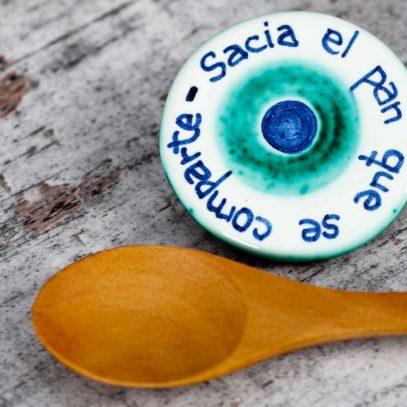 """Imán """"Sacia el Pan"""" redondo1"""