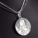 """Medalla """"Virgen Niña""""7"""