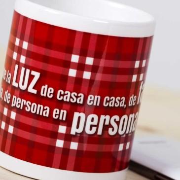 """Taza """"Papa Francisco""""roja4"""