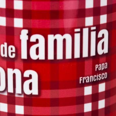 """Taza """"Papa Francisco""""roja5"""