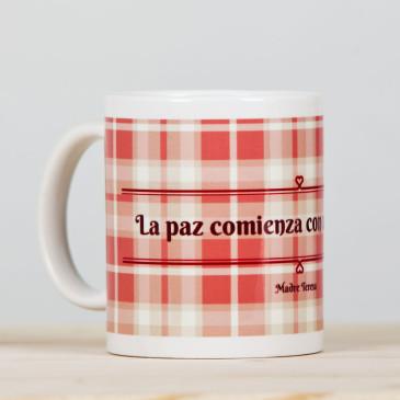 "Taza ""La Paz""rosa1"