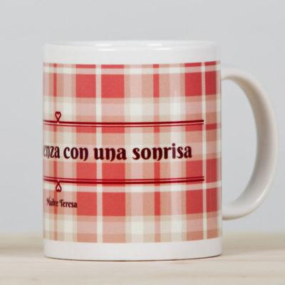 "Taza ""La Paz""rosa2"