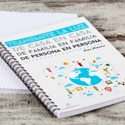 """Cuaderno """"Transmite la Luz""""1"""