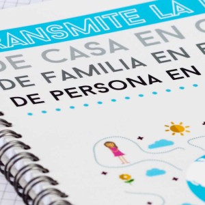 """Cuaderno """"Transmite la Luz""""4"""