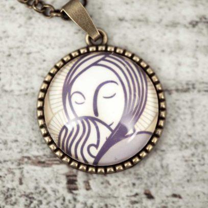 Camafeo Virgen Luminaria 1