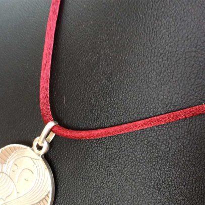 Cordón-granate-Medalla-Virgen