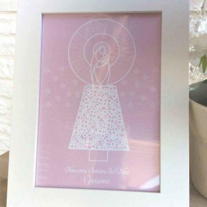 Virgen-Pilar-niña-rosa