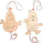 Marionetas Navideñas DIY