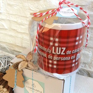 Taza Roja Navidad