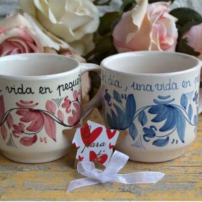 Taza artesana cerámica