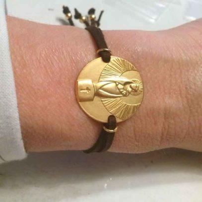 Pulsera-Oro-Medalla-V.P.