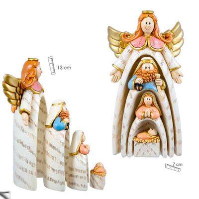 "Nacimiento Angel ""figuras encajables"""
