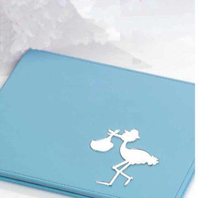 Libro Firmas Bautizo Azul