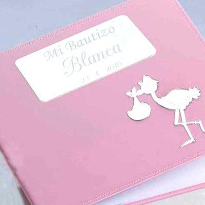 Libro de Firmas Bautizo Rosa