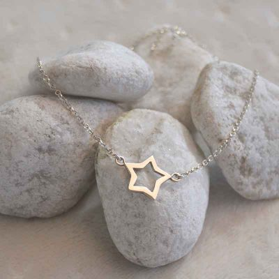 Colgante de Plata Estrella