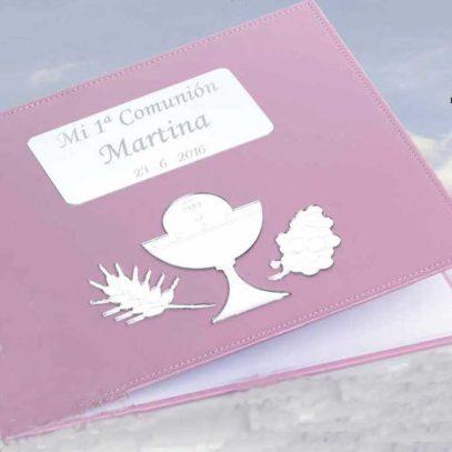 Libro de Firmas Comunión rosa