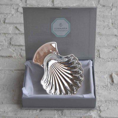 Concha de Bautizo plata