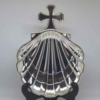 Concha de Bautizo plata clásica
