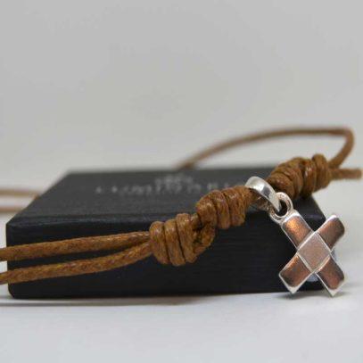 Cruz plata Francisco