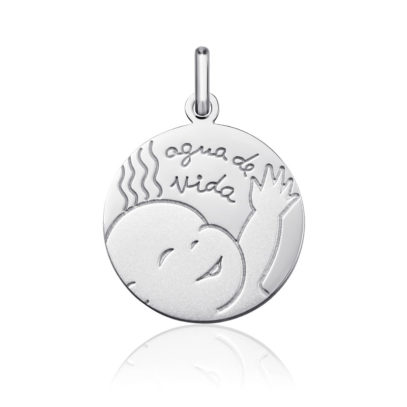 """Medalla de plata """"Agua de Vida"""""""