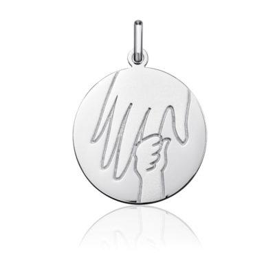 "Medalla de plata ""Manita"""