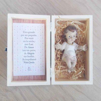 Niño Jesús con oracion