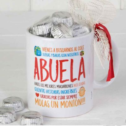 "Taza Mug ""Gracias Abuela"""
