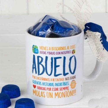 "Taza Mug ""Gracias Abuelo"""