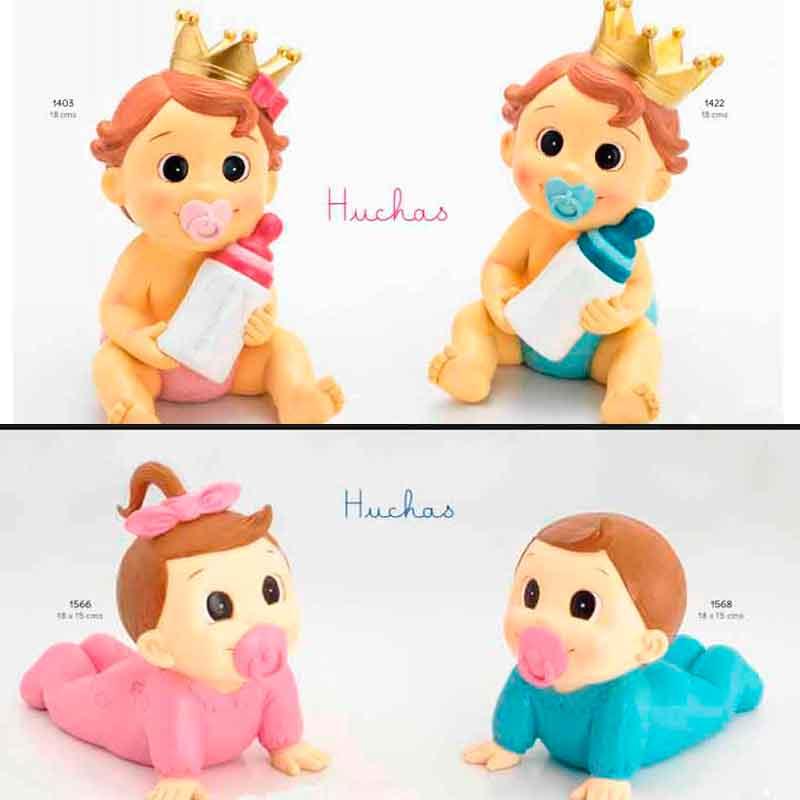Huchas Para Bebes.Figuras Para Pastel Huchas Bebe Pelo Castano