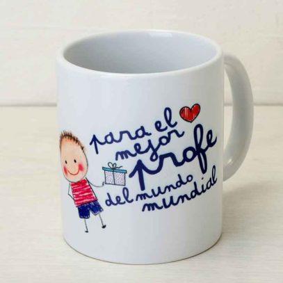"Taza Mug ""Para el mejor Profe"""