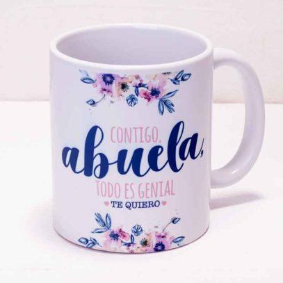 """Taza Mug """"Contigo Abuela"""""""