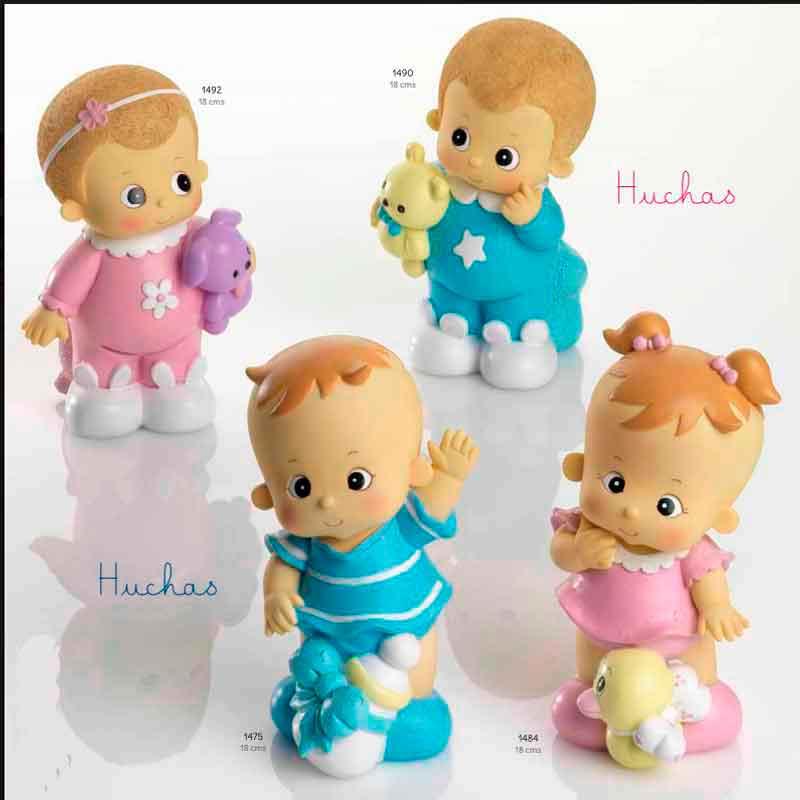 Huchas Para Bebes.Figuras Para Pastel Huchas Bebe Pelo Rubio