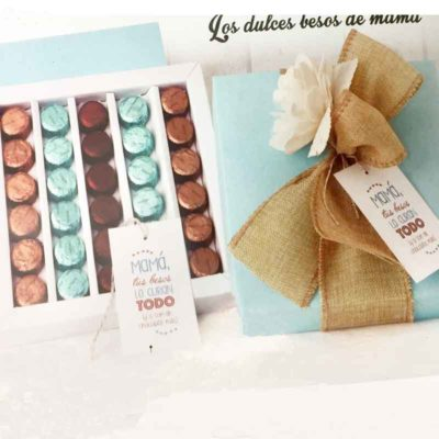"Caja Bombones ""Los dulces besos de Mamá"""