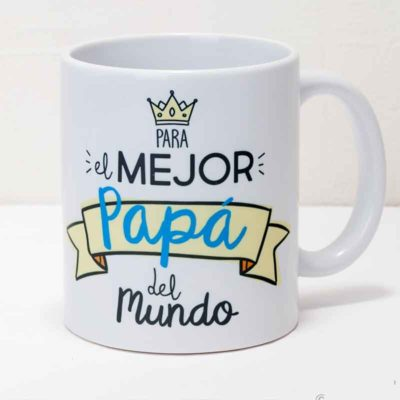"Taza Mug ""El mejor Papá"""