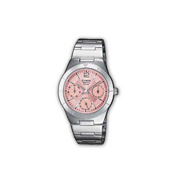 Reloj Casio acero para chica